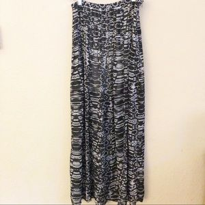 Jeans By Buffalo maxi skirt with slit sz 6